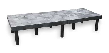 Dunnage Rack, 1500 lb., HDPE, 66 W x 24 D