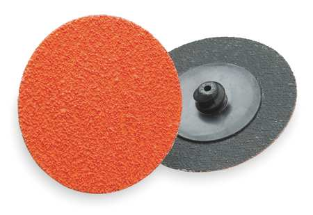 Quick Change Disc, CerAlO, 3in, 50G, TR, PK25