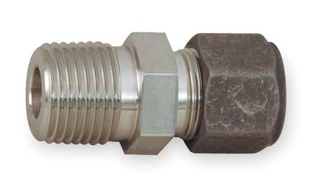 "3/8"" CPI x MNPT SS Male Connector"