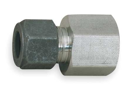 "1/4"" x 3/8"" CPI x FNPT SS Female Connector"