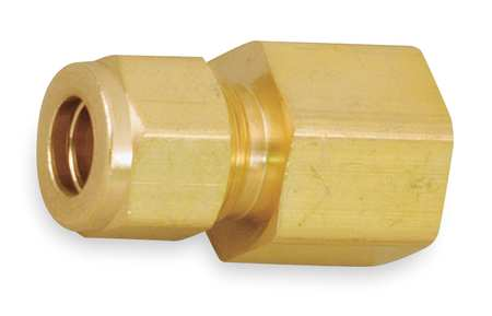 "3/8"" A-LOK x 1/4"" FNPT Brass Connector"