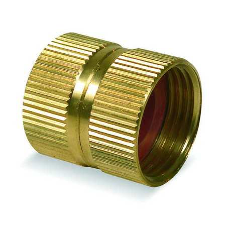Hose To Hose Connector, Dbl Female, 3/4