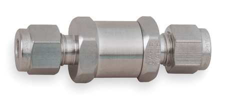 "1/4"" A-LOK(R) Stainless Steel Instrumentation Check Valve"