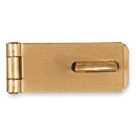 Latching Safety Hasp, Steel, 1-3/4 In. L
