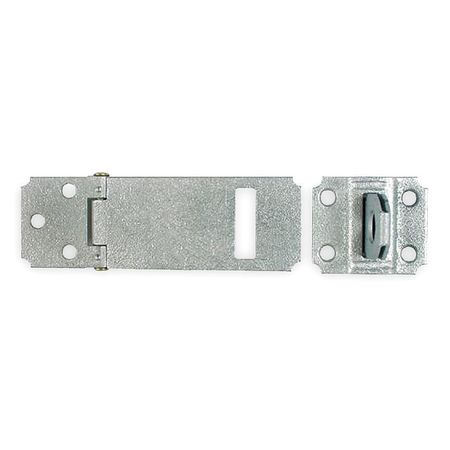 Adjustable Safety Hasp, Steel, 3-1/2 In. L