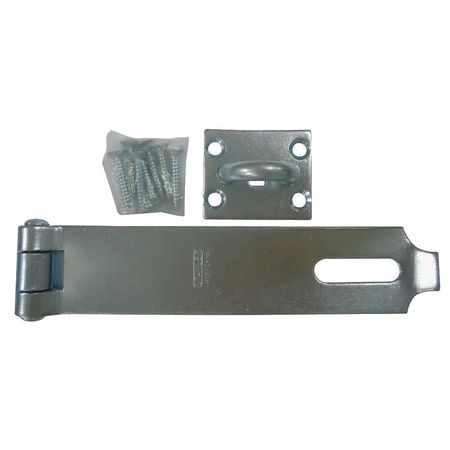 Latching Safety Hasp, Steel, 7-1/2 In. L