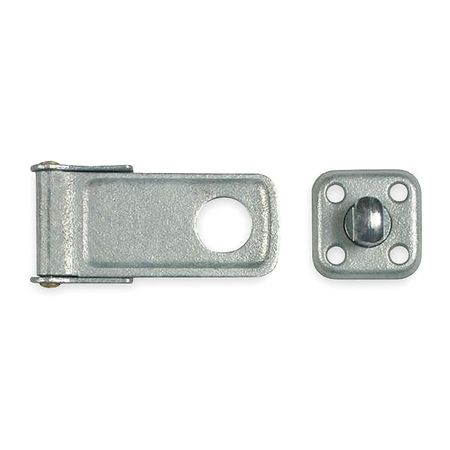 Latching Swivel Safety Hasp, 4-1/2 In. L