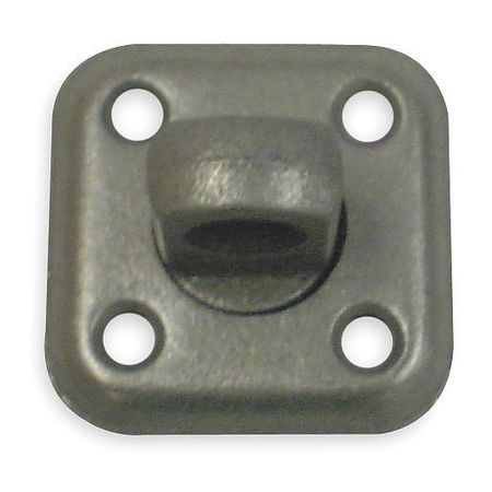 Swivel Plate Staple, Steel, 1-9/16 In. L