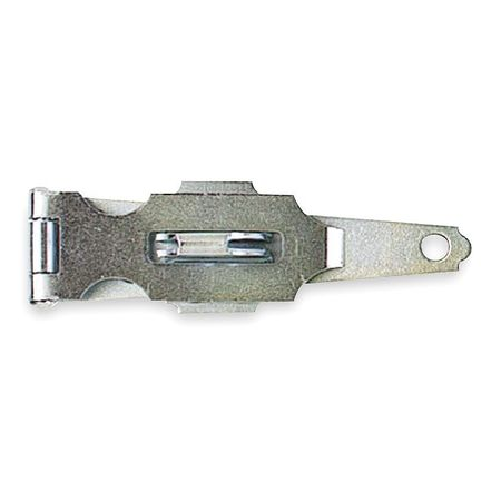 Latching Fixed Staple Hinge Hasp, 3 In. L