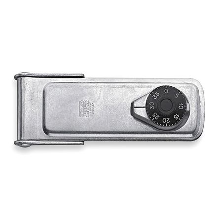 Latching Combination Lock Hasp, 6 In. L