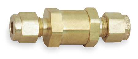 Inline Filter, 1/4 In, Brass, 3000 PSIG CWP
