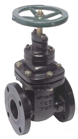 Gate Valve, Class 200, 2-1/2 In., Flange
