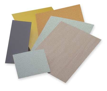 Sanding Sheet, 9x3-5/8 In, 150 G, AlO, PK6