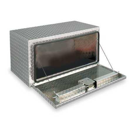 Underbody Truck Box, Aluminum, 18 in. H