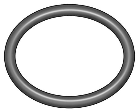 O-Ring, Dash 207, Silicone, 0.13 In., PK50