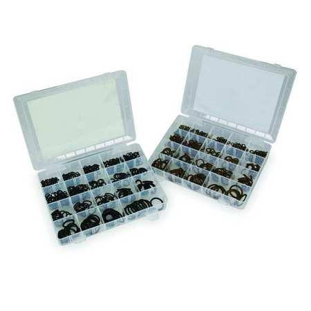 Zoro Select O-Ring Assortment, Nitrile & Viton, 584Pcs 1RGY9 | Zoro.com