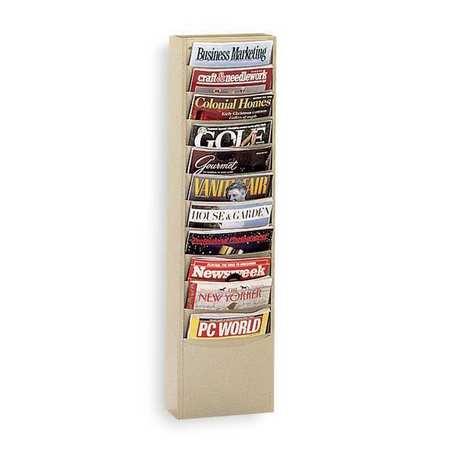 Magazine Wall Display, Tan