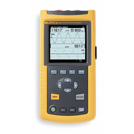 Power Quality Analyzer, 1.56GW, 400A