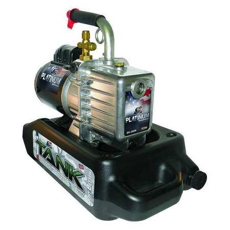 Platinum® Refrig Evacuation Pump,7.0 cfm,6 ft -  JB INDUSTRIES, DV-200N