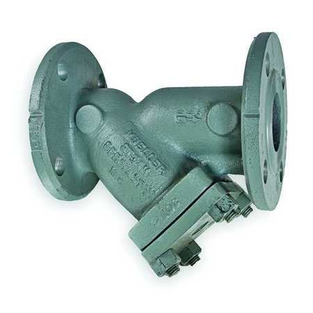 "Y Strainer, 304 SS, 3"", Flanged, Graphite"