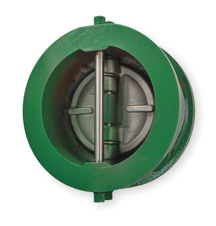 Double Disc Check Valve, Cast Iron, 6 In.