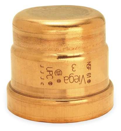 """3"""" Press Copper Cap"""