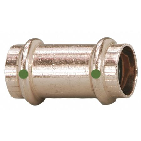 "ProPress 3/4"" Press Copper Coupling without Stop"