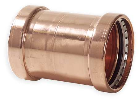 "2-1/2"" Press Copper Coupling without Stop"