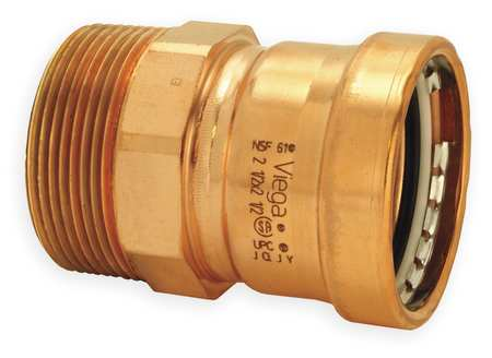 "3"" Press x MPT Copper Male Adapter"