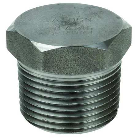 "1/4"" MNPT SS Hex Head Plug"