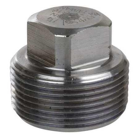 """3/4"""" MNPT SS Square Head Plug"""