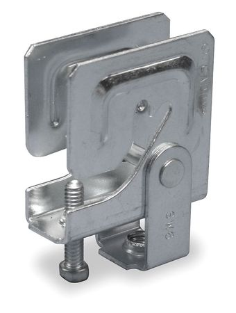 MultiFlange Beam Clamp, 3/8 IN Rod Size