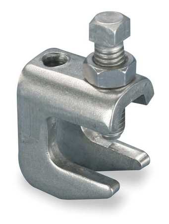 Beam Clamp, 3/8 In Rod Size, 304 SS