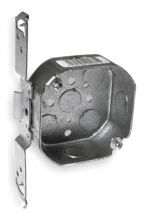 Electrical Box, Octagon with Bracket