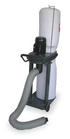 Mobile Dust Collector, 1 HP, 115/230 V