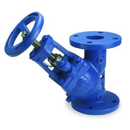 Triple Duty Check Valve, Cast Iron, 4 In.