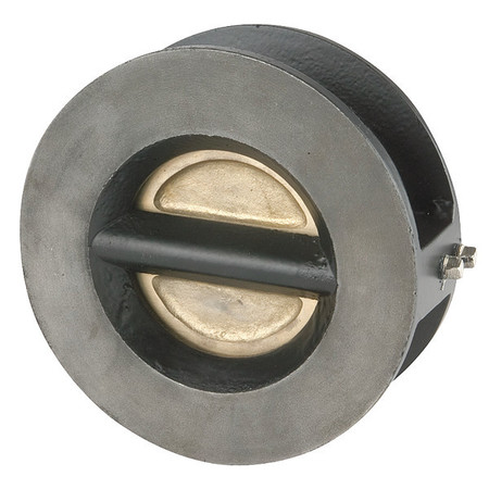 "2-1/2"" Wafer Flange Cast Iron Double Disc Check Valve"