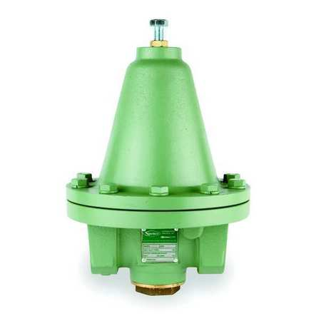 Pressure Regulator, 1/2 In, 3 to 15 psi