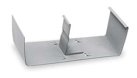 Divider Clip, Gray, Steel, Clips