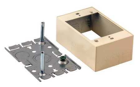 Switch and Receptacle Box, Ivory