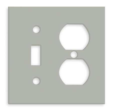 Plate, Gray, Steel, Plates