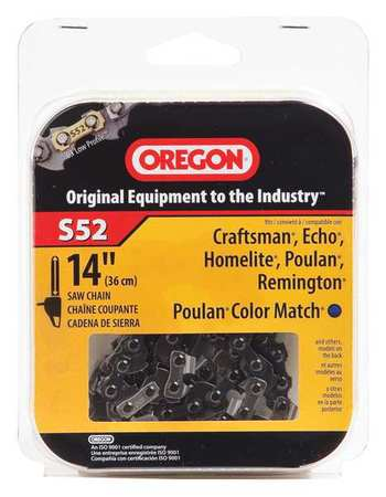 Saw Chain, 14 In., .050 In., 3/8 In. Pitch