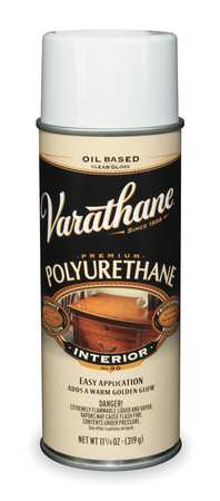 Polyurethane Spray, Clear, 11.25 oz.