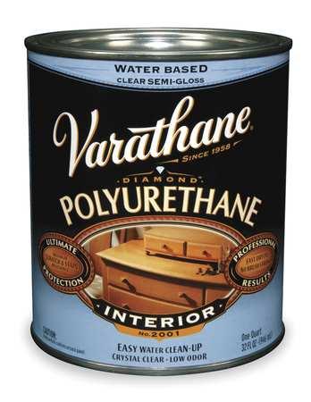 Polyurethane, Clear, Satin, 1 gal.