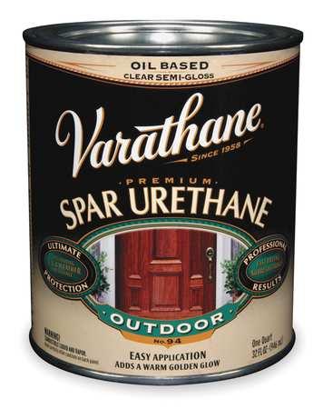 Spar Urethane, Clear, Satin, 1 gal.