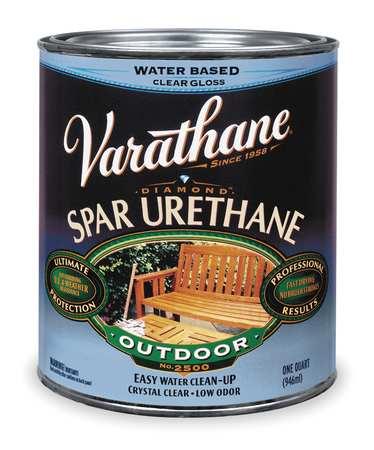 Spar Urethane, Clear, Semi-Gloss, 1 gal.