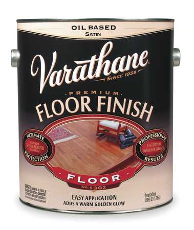 Floor Finish, Crystal Clear, Gloss, 1 gal.