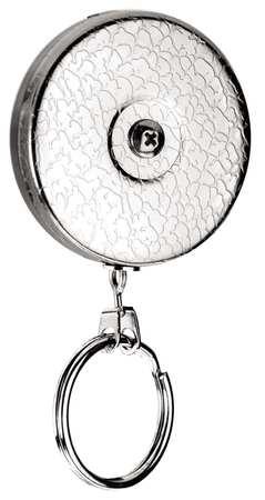 Key Reel, Chain, Clip Fits 2 In Belts