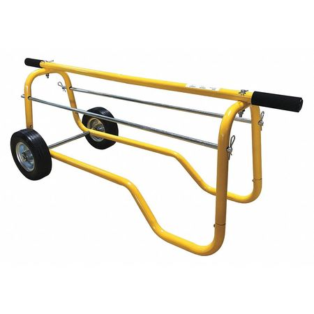 Wire Tote, Wheeled, Capacity 120 Lb
