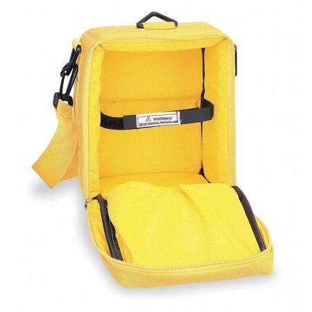 Carrying Case, Nylon, Yellow